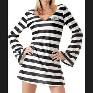 California Costumes Other - Adult convict prisoner inmate halloween costume